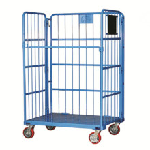 Large Foldable Powder Roll Container Carts