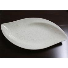 Marmor Grain Melamin Geschirr Platte (CP-029)