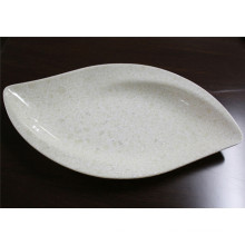placa de mármore dos utensílios de mesa da melamina da grão (CP-029)