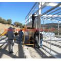 Pré-fabricadas em aço estrutural leve armazém/oficina