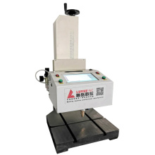 high accuracy desktop Dot Peen Metal Tube Marking Machine