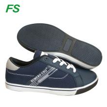 Zapato de lona plano de moda para hombre en venta