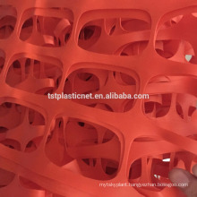 Orange Plastic Safety Fence 1/1.2m Wide