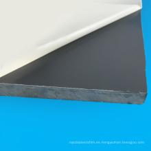 Hoja dura doble del PVC de la película protectora para la cartelera