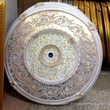 Türkei Stil Runde PS Künstlerische Decke Medaillon für Dekor Dl-1169-6