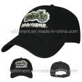 Вышивка Applique вышивка мягкой промывается бейсбол шляпа (TMB6234)