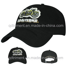 Applique Embroidery Printed Soft Washed Sport Baseball Hat (TMB6234)