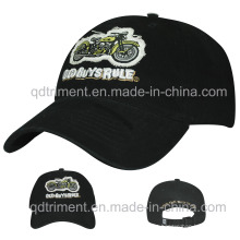 Applique Bordado Impresso Soft Washed Sport Baseball Hat (TMB6234)