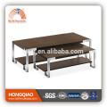 Table basse CT-35A CT-35B en acier et bois