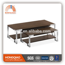 CT-35A CT-35B wood steel design coffee table