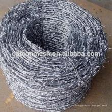 Galvanizado cerca de alambre de púas fábrica china