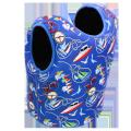 Seaskin Chaleco salvavidas infantil de 3 mm para niños