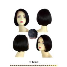 Machine Made Short Hair Straight Bob Wig
