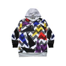 Warm Sports Wear Hoodie à la mode personnalisé avec motif coloré (H5013)