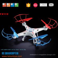 2.4 G 4.5CH 6 axes gyro avec kit de plastique quadcopter rc de caméra HD