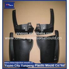high precision auto part mudguard board plastic injection mould/Taizhou auto mud guard mould/ car fender mould