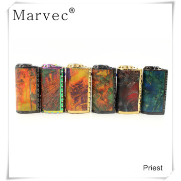 Marvec Priest stabilized wood 75W ecigarette