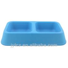 bols pour animaux de compagnie en caoutchouc de silicone