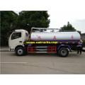 6 Ton 7200L Septic Tanker Trucks