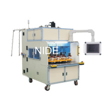 Máquina de bobinado de bobina de estator del motor de inducción de ocho estaciones de trabajo