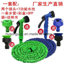 Manguera de agua de PVC portátil para coche