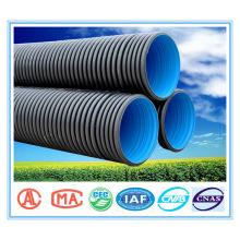 polietileno de alta densidad corrugado tubo dn1200