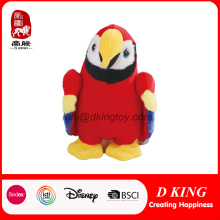 Promotion Custom Soft Peluche Peluche Animal Toy Bird Parrot