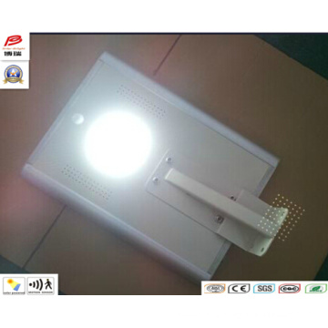 6W All in One Integrated Solar LED Garden Street Light