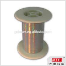 Hologram self adhesive tear tape for box