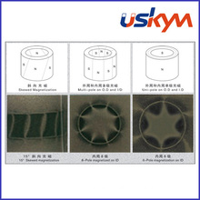 NdFeB Radial Oriented Ring Magnet Motor Magnet