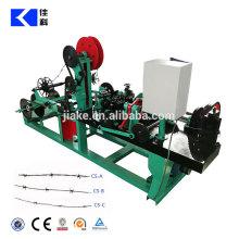 Fil de fer barbelé à grande vitesse de fil simple faisant la machine