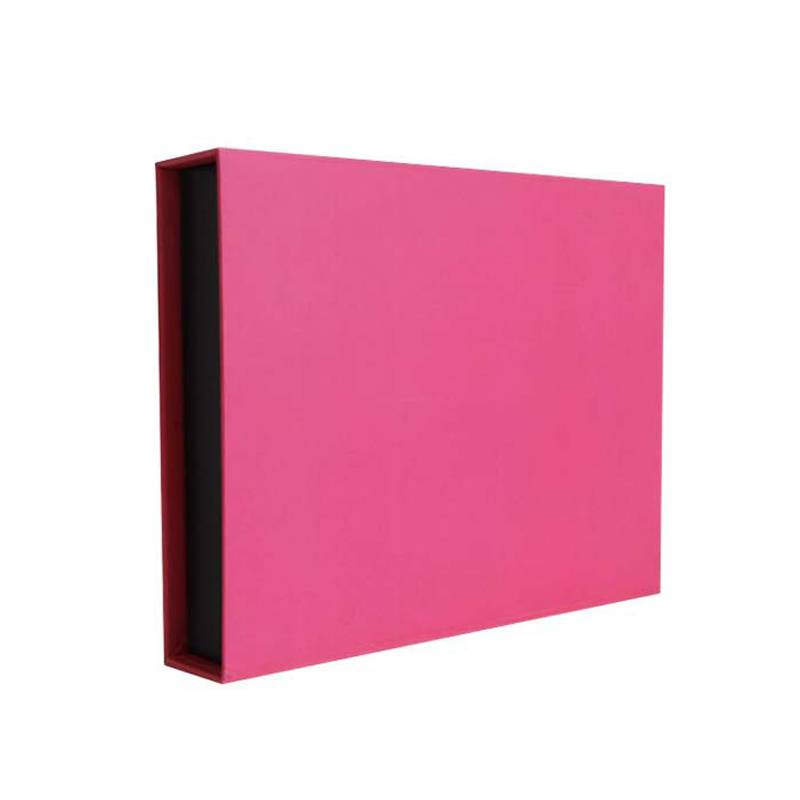 Pink Cardboard Rigid Gift Box