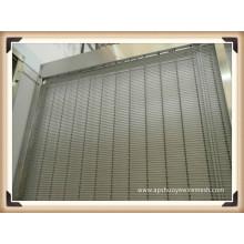 Malla decorativa de la pared de cortina de la aleación de aluminio