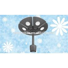 IP65 CE ROHS High Lumens Outdoor Solar Led Garden Light avec driver meanwell
