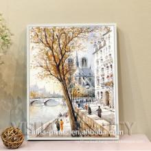 2015 New Canvas Oil Painting Autumn Landscape