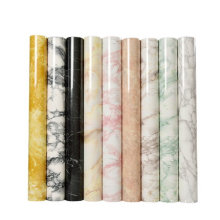 Marble Tile Design Vinly Waterproof Film