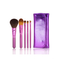 Customized Makeup Tool Cosmetic Brush Set with Fashion Pouch