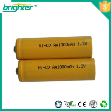 1.2v rechargeable battery nicd aa battery for electric scooters with low price