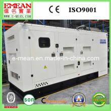 Tipo silencioso diesel do gerador de 300kw CUMMINS