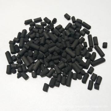 Carvão Ativado Colunar de Carvão Impregnado de KOH de Alta Qualidade