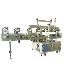 Automatic factory double side plastic round bottle labeling machine