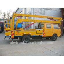 Best price crew cab 12--16m JMC platform lift trucks
