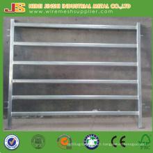 China Factory Supply 6 Rails Oval Tube Panel de clôture bovine