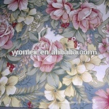 100% Combed Cotton Silver Powder Printing Fabric for Mattress
