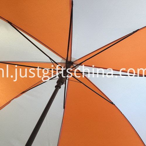 Promotional Custom Logo Golf Umbrella_5