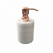 Elegant marble kitchen liquid soap dispenser with pump