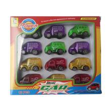 Coche de plástico de Pull Back Car para niños