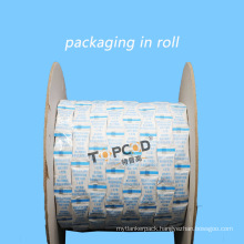 White Silica Gel Desiccant with Tyvek Packaging for Dress