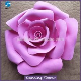 wholesale paper rose flowers for wall Decoration wedding window display