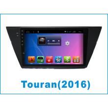 Monitor del coche del sistema del androide para Touran con la navegación del GPS del coche / el DVD del coche